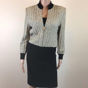 St. John knit jacket, Size P